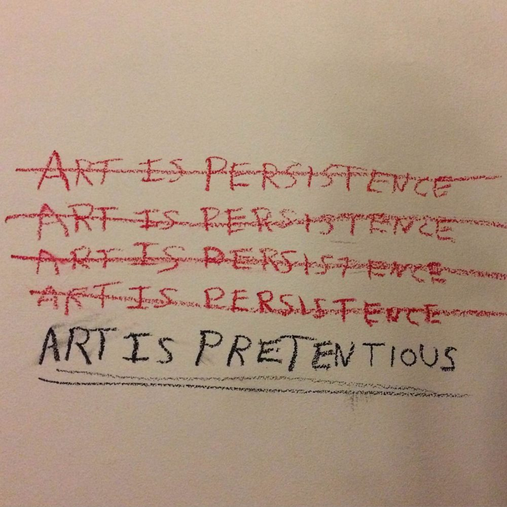 art-is-pretentious